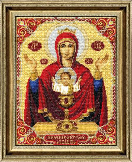 Вышивания крестом чарівна мить икона