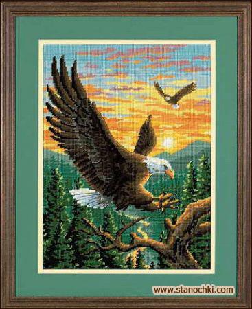 Вышивка орел набор