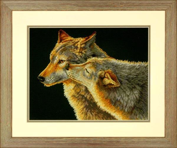 схема вышивка пушистый котенок