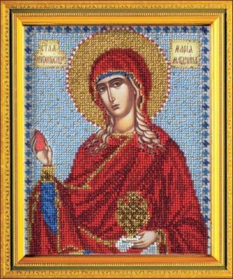 Мария магдалина икона вышивка